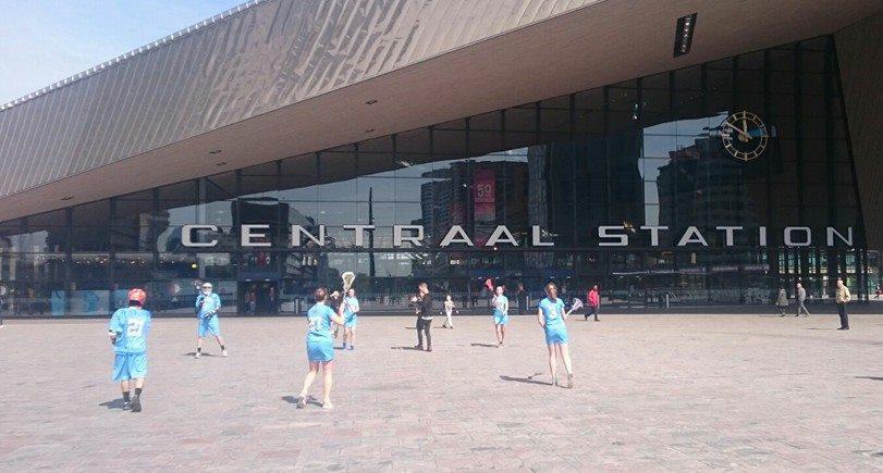Foto Lacrosse Rdam Centraal